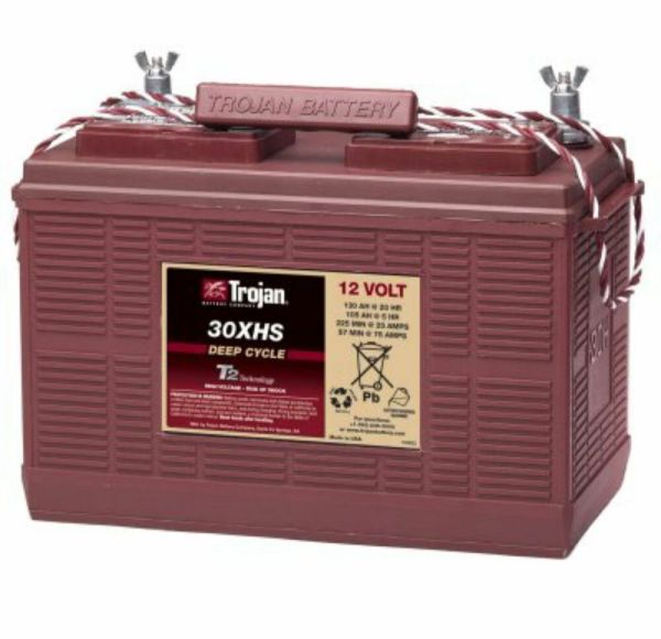 Trojan 30xhs 12v 12 Volt Golf Cart Battery Rv Marine Solar Deep Cycle