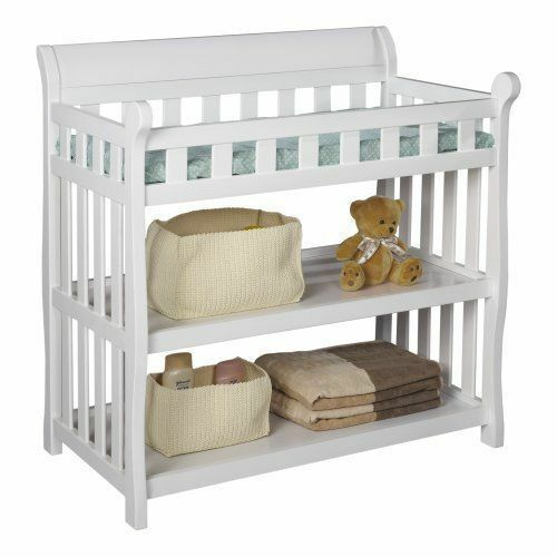 Delta Children Eclipse CHANGING TABLE Baby NURSERY TABLE White  eBay