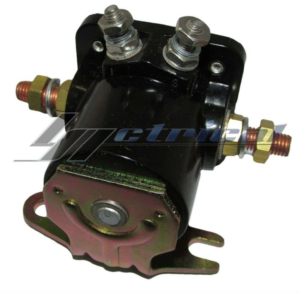 medium resolution of new starter hd relay winch solenoid for early warn winch warn xd9000i winch parts