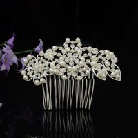 Wedding/ Bridal Hair Combs Flower/ Crystal/Pearl Clips