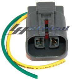 details about new alternator repair plug harness 2 wire pin pigtail for nissan pathfinder v6 [ 1000 x 1000 Pixel ]