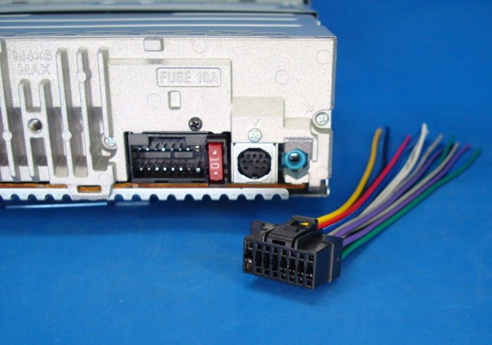 Sony Xplod Wiring Diagram