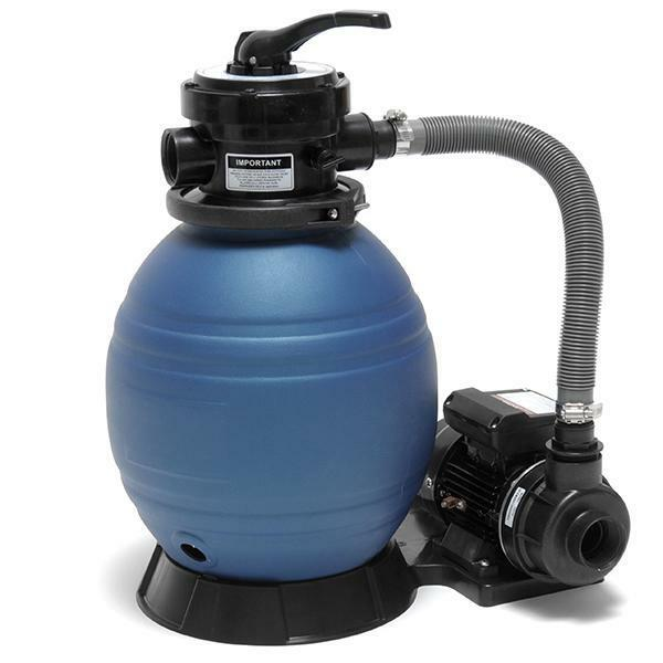 Above Ground Swimming Pool Sand Filter And Pump System