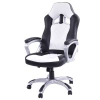 High Back Racing Style Bucket Seat Gaming Chair Swivel ...