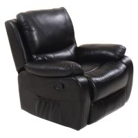 Ergonomic Deluxe Recliner Massage Sofa Chair Lounge ...