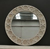 Round Rustic Whitewash Provincial Hamptons Recycled Timber ...