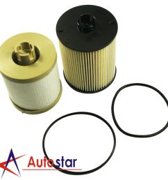 details about new fuel filters fd4617 for ford powerstroke f 250 f 350 f 450 super duty 6 4l [ 1000 x 1000 Pixel ]