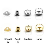 Single Screw Back Replacement Earring 14K White or Yellow ...