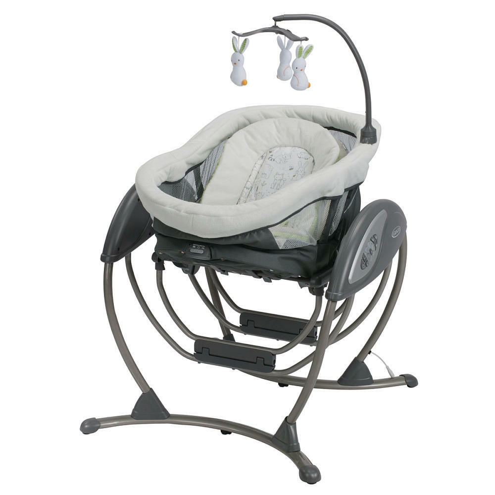 Graco Dream Glider Newborn Baby Infant Swing  Bassinet