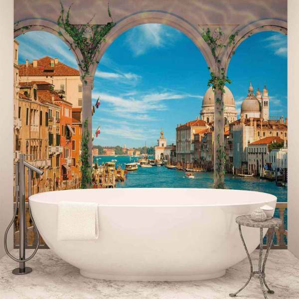 Wall Mural Wallpaper Xxl Arches Venice Italy 1072ws