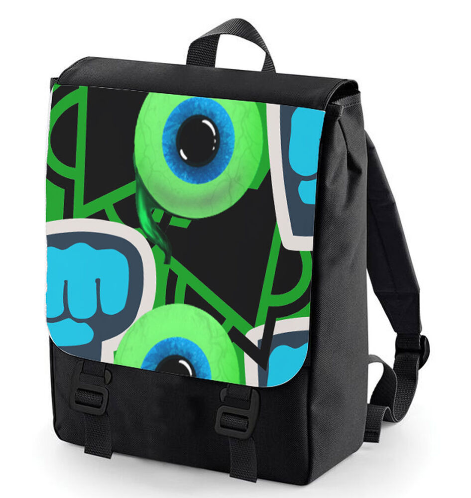 JACKSEPTICEYE PEWDIEPIE VANOSS BACK PACK LOGO COLLAGE BACKGROUND BAGBASE  eBay