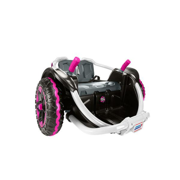 Power Wheels Spinning Wild 12 Volt Battery Powered Ride Vehicle Pink
