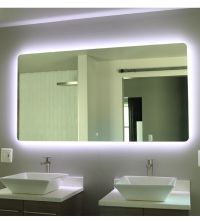 "Windbay 48"" Backlit Led Light Bathroom Vanity Sink Mirror"