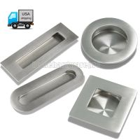 Kitchen Cabinet Drawer Recessed Sliding Door Handles