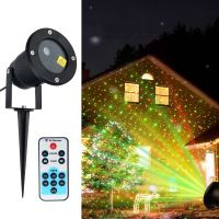 Christmas MOTION Star Light Laser LED Projector Outdoor ...