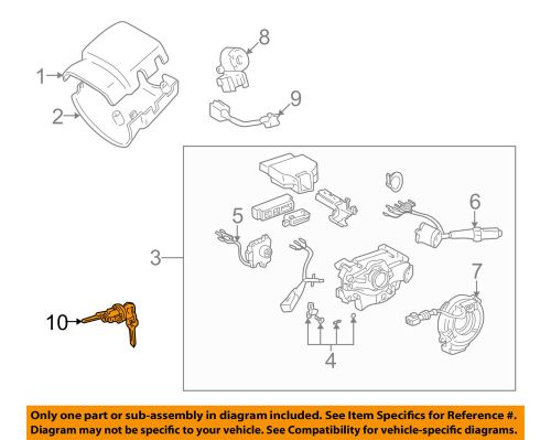 small resolution of details about toyota oem 95 03 tacoma ignition lock cylinder 6905735070