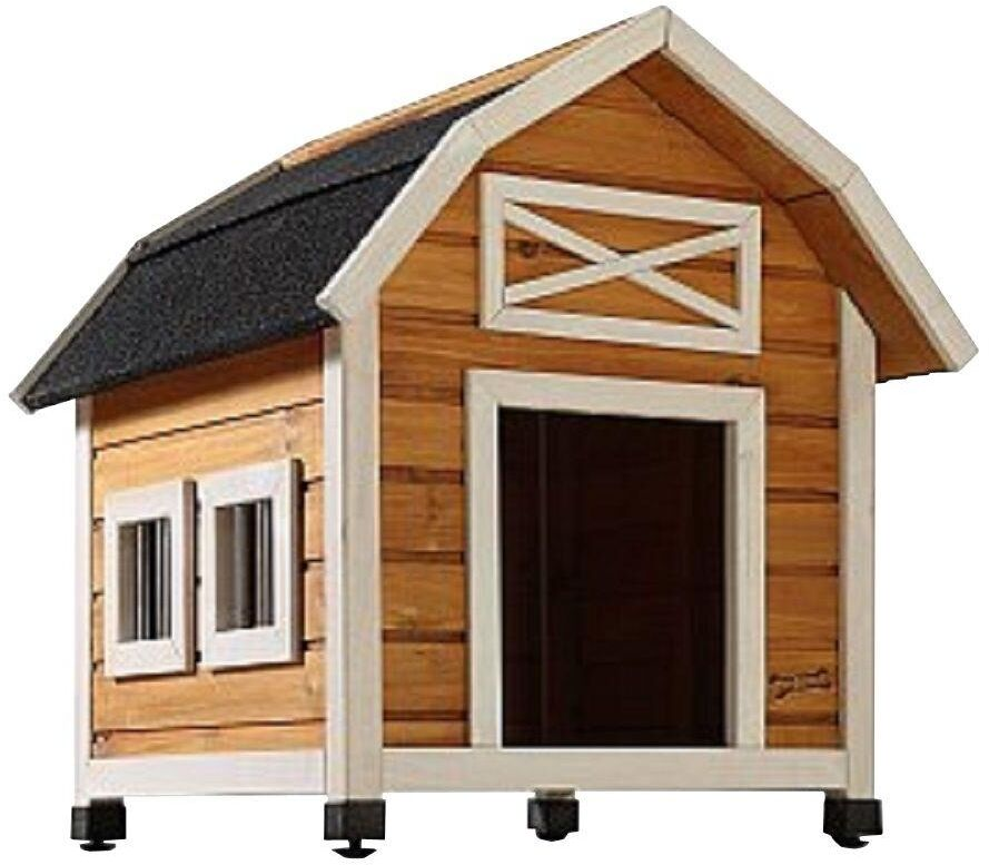 Dog House Outdoor SmallMed Indoor Durable Doghouse Shelter Kennel All Weather  eBay