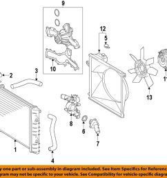 details about toyota oem 05 15 tacoma engine water pump 1610009471 [ 1000 x 954 Pixel ]