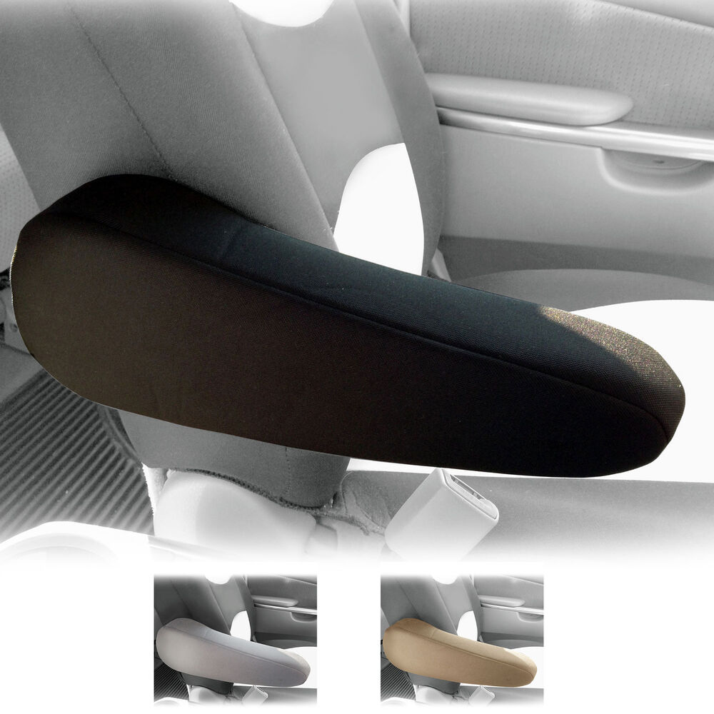 leather chair covers to buy plastic tri fold beach lounge cloth auto armrest cover for car van truck set of 2 | ebay