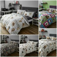 Fun Animal Themed Duvet / Quilt Cover Bedding Sets - Cats ...