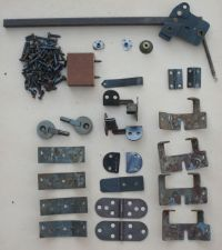 Singer Sewing Machine Cabinet Hardware Lot Complete 1950`s ...