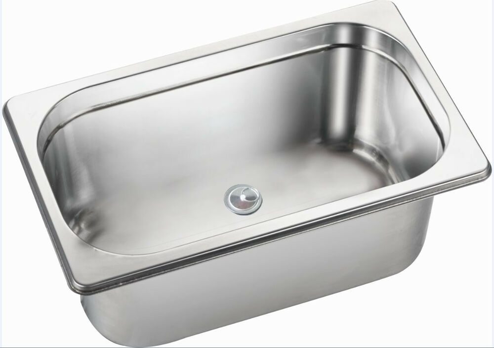 Rv Caravan Boat Motor Home Stainless Steel Hand Wash Basin