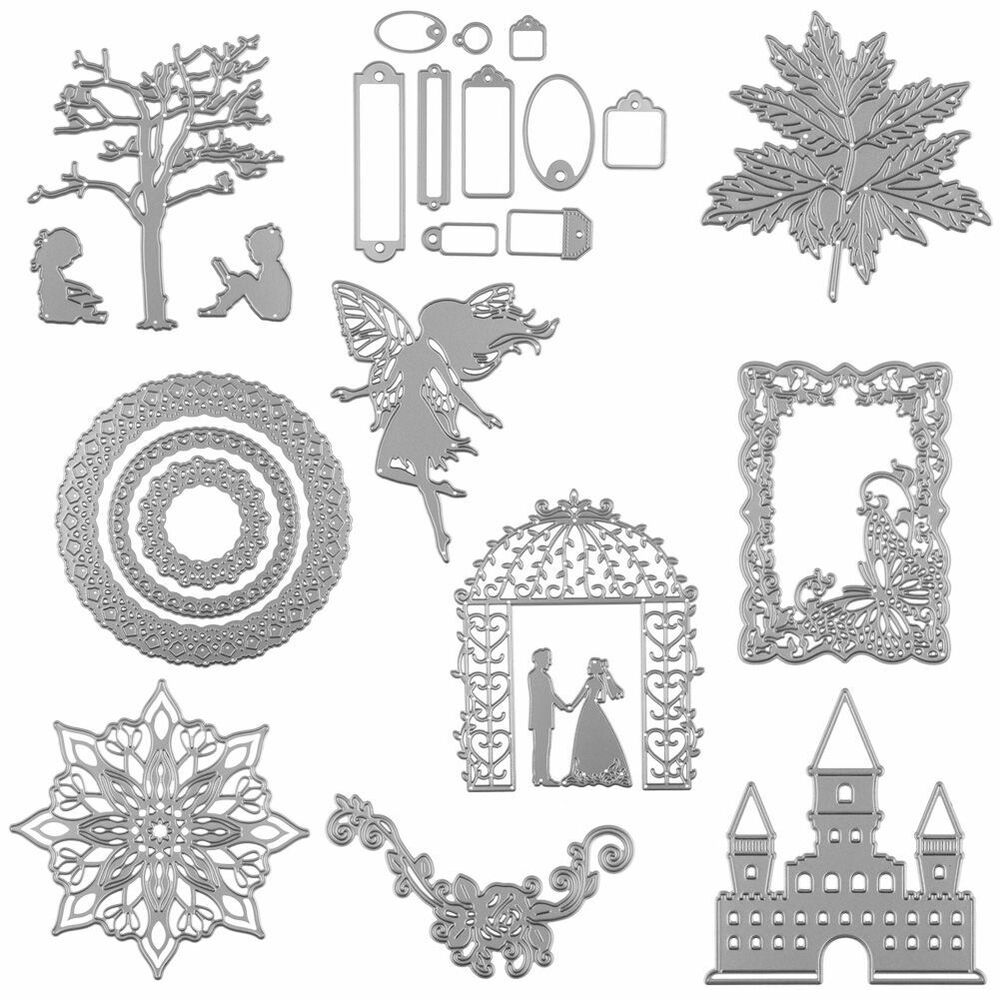 Scrapbooking Cutting Dies Stencil Album Embossing DIY