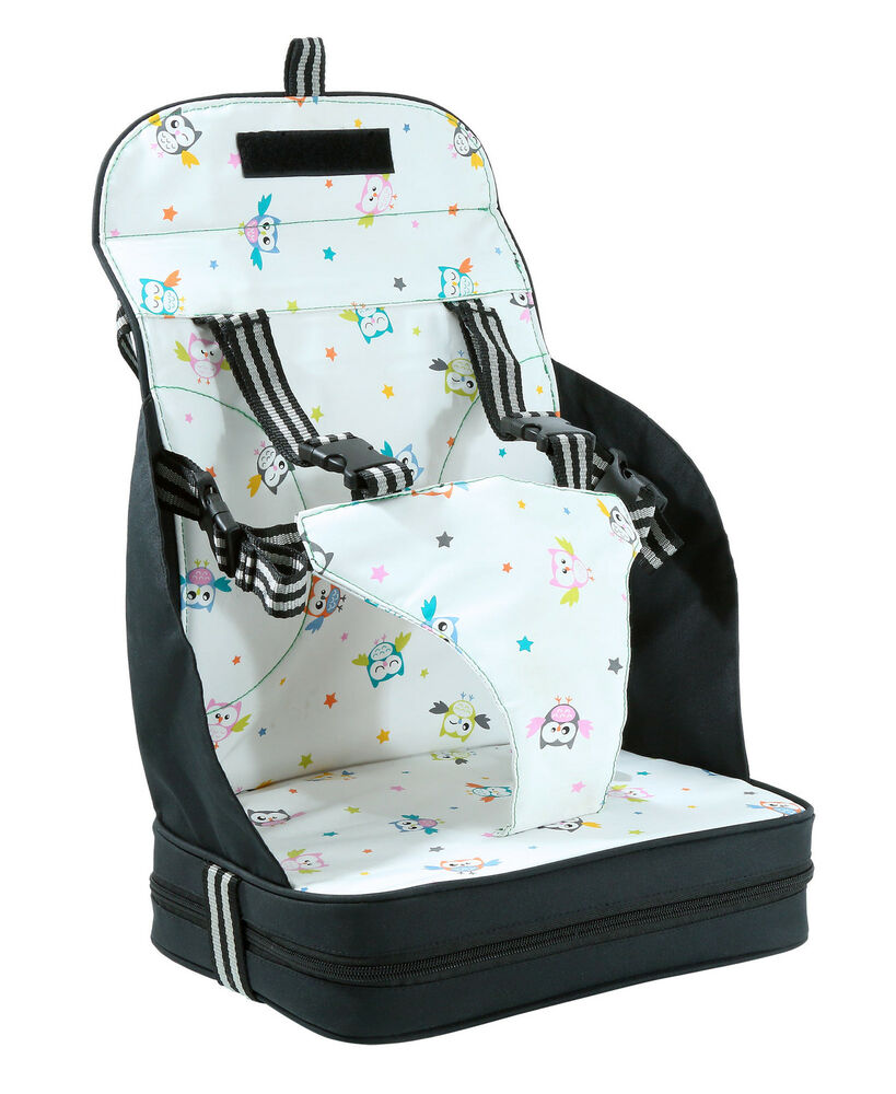 VENTURE Travel Booster Seat High Chair Highchair With 5 Point Harness NEW  eBay