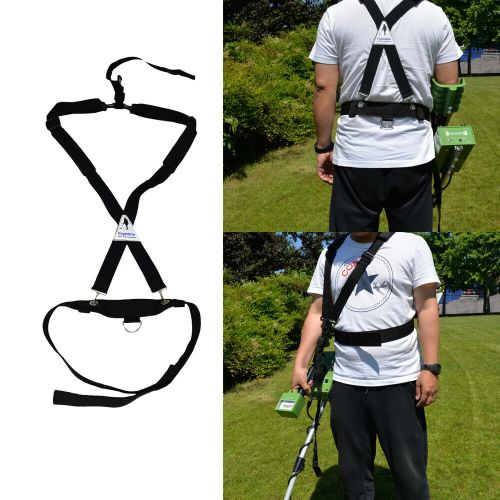 small resolution of universal metal detector bungee support harness ez easy swing fully adjustable