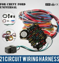 21 circuit wiring harness fit chevy universal hotrods x long chrysler 800000096580 ebay [ 1000 x 1000 Pixel ]