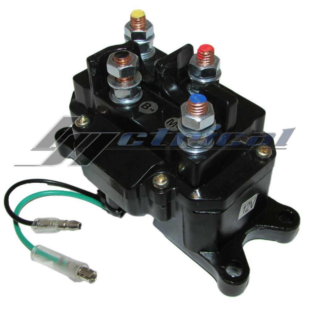 medium resolution of details about switch relay contactor 12v used on warn prestolite winch motor replaces rw00703