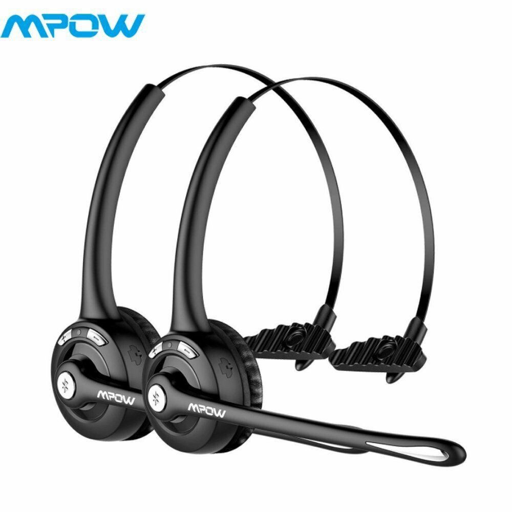 Mpow Pro Truck Driver Wireless Bluetooth Office Headset