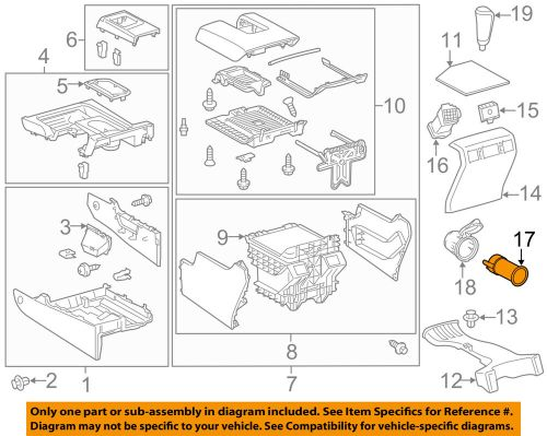 small resolution of detalles acerca de toyota oem 07 16 tundra dash 12v toma de corriente mechero 85530ae010 mostrar t tulo original