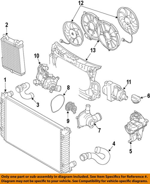 small resolution of audi oem 14 17 rs7 engine water pump 6r0965561a ebay audi rs7 engine diagrams