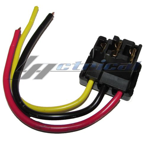 small resolution of details about new alternator repair plug 3 wire harness for mercedes benz 230 240d 280c 300d