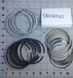 details about wisconsin part dr15ds10 set piston ring o s laq [ 1000 x 1000 Pixel ]