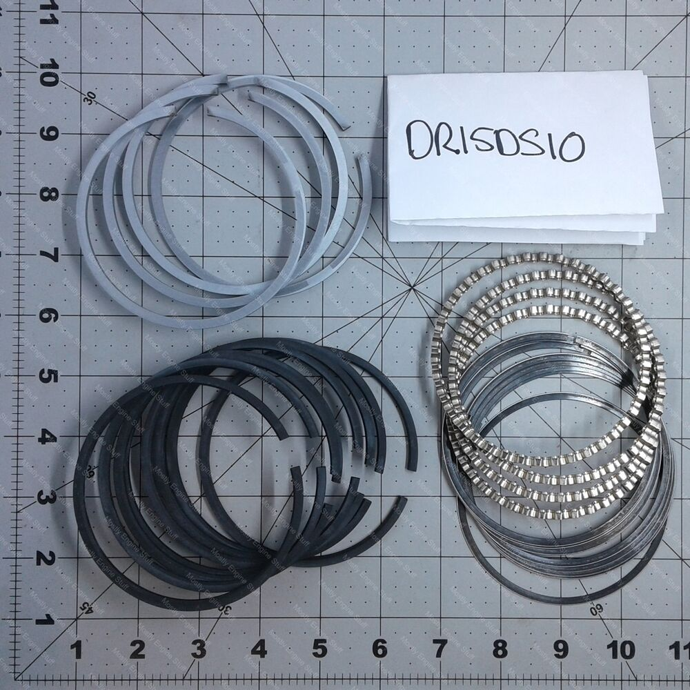hight resolution of details about wisconsin part dr15ds10 set piston ring o s laq