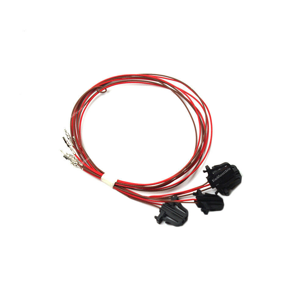 hight resolution of details about 4 pcs for vw golf jetta mk5 mk6 door warning light wire harness cable set