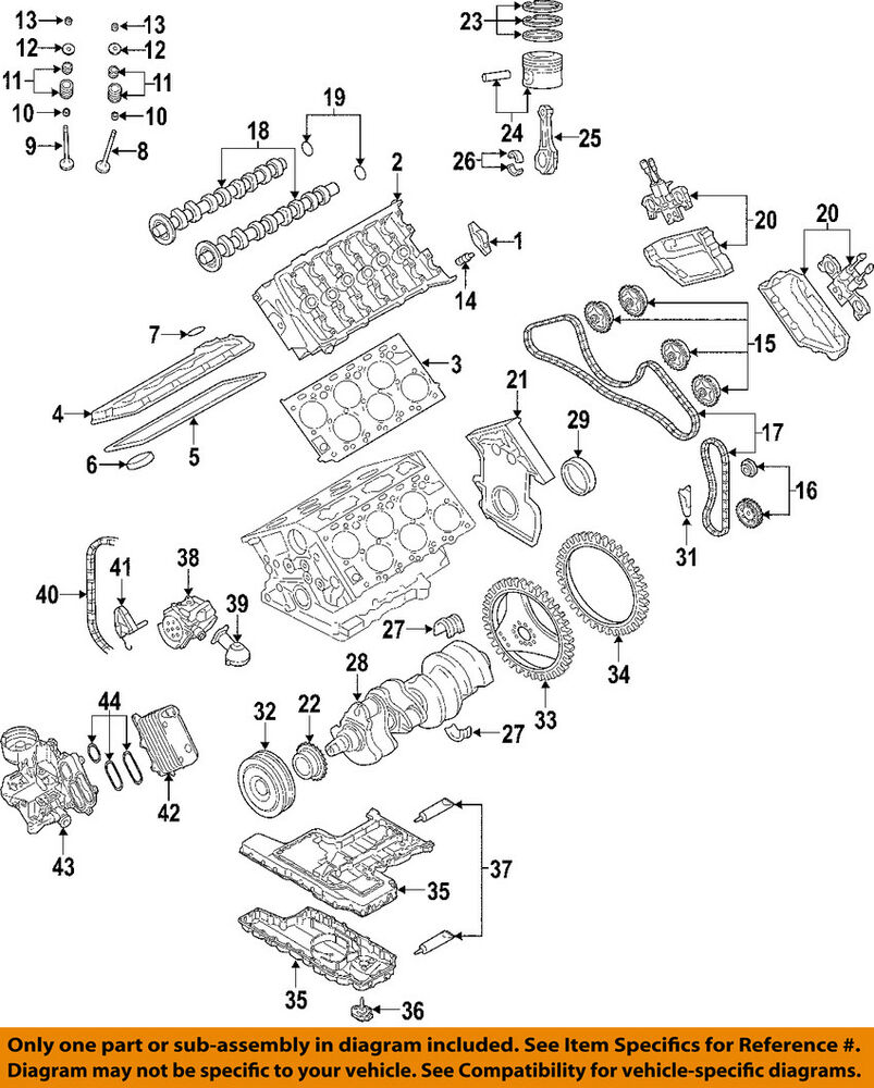 medium resolution of details about audi oem 05 07 a8 quattro engine timing cover 07c109204j