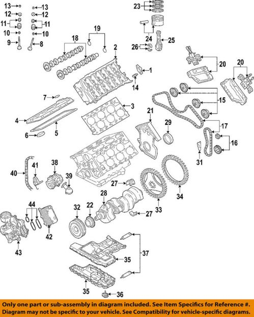 small resolution of details about audi oem 05 07 a8 quattro engine timing cover 07c109204j
