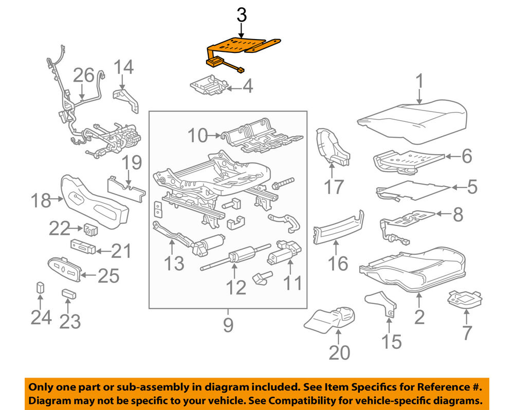 medium resolution of details about cadillac gm oem 13 16 srx passenger seat occupant module 22999382