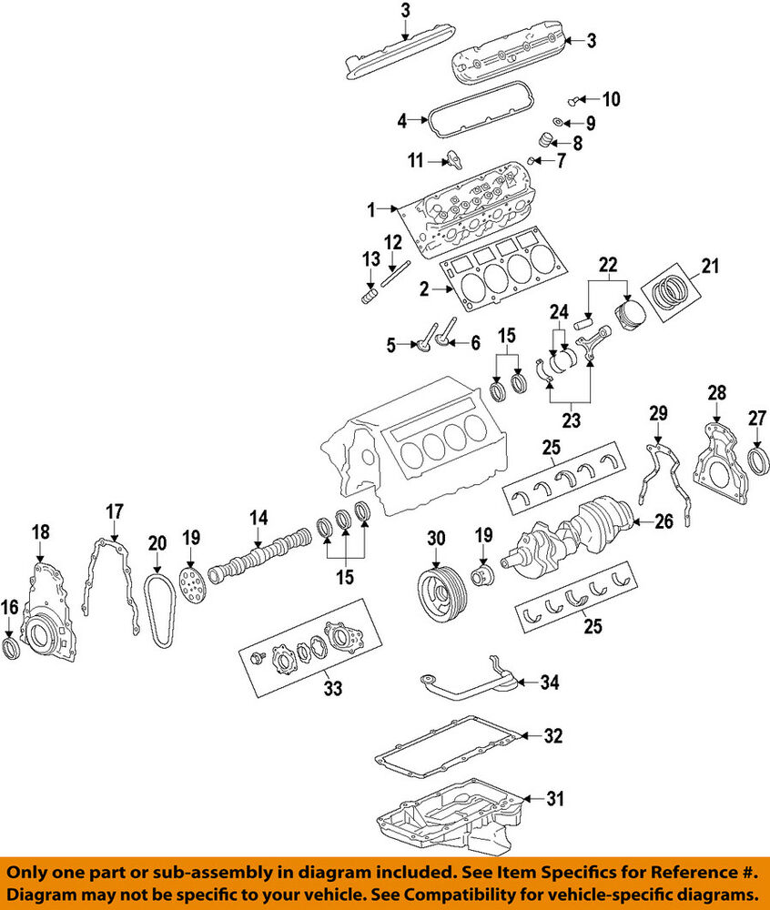 hight resolution of details about chevrolet gm oem 11 15 caprice camshaft 12625438