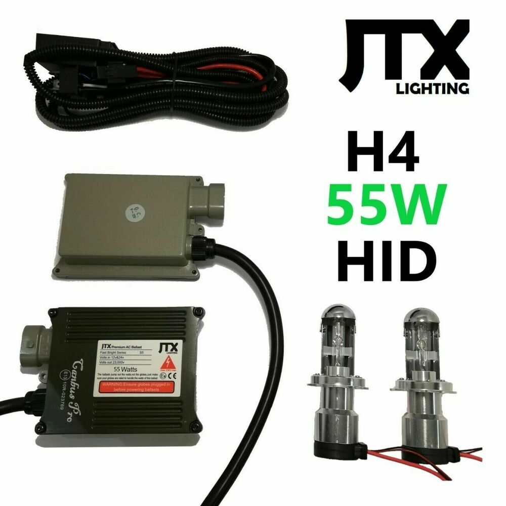 medium resolution of details about hi lo 55w h4 hid kit suits toyota hilux sr5 dual cab single king surf forerunner