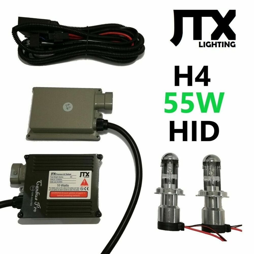 hight resolution of details about hi lo 55w h4 hid kit suits toyota hilux sr5 dual cab single king surf forerunner