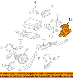 details about gm oem a i r system check valve 12619128 [ 1000 x 798 Pixel ]