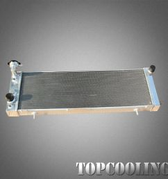 details about 52mm aluminum radiator for jeep cherokee xj l6 2 5l 4 0l at mt 91 01 left hand [ 1000 x 1000 Pixel ]