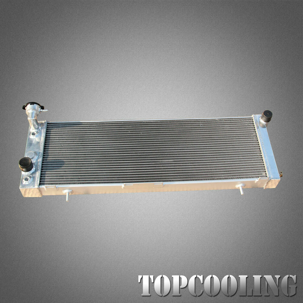 medium resolution of details about 52mm aluminum radiator for jeep cherokee xj l6 2 5l 4 0l at mt 91 01 left hand
