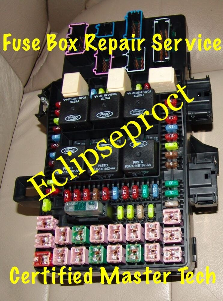 2003 Ford Expedition Fuse Box Diagram Image Details