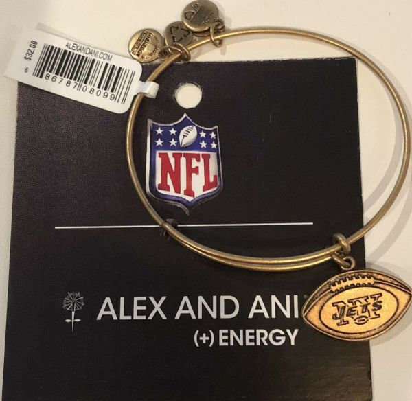 Alex And Ani York Jets Football Nfl Expandable
