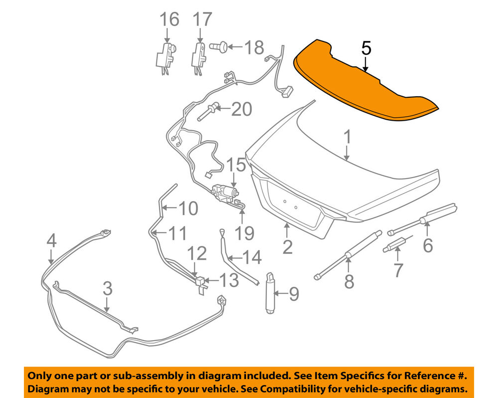medium resolution of details about volvo oem 06 13 c70 stowage compartment retractable top boot cover 30787767